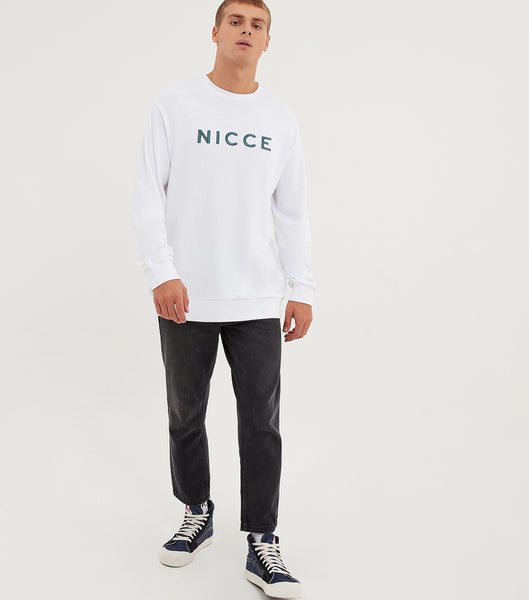 NICCE Mens Proton Long Sleeve T-Shirt | White, T-Shirts