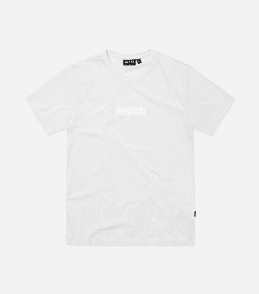 NICCE Mens Base T-Shirt | White, T-Shirts