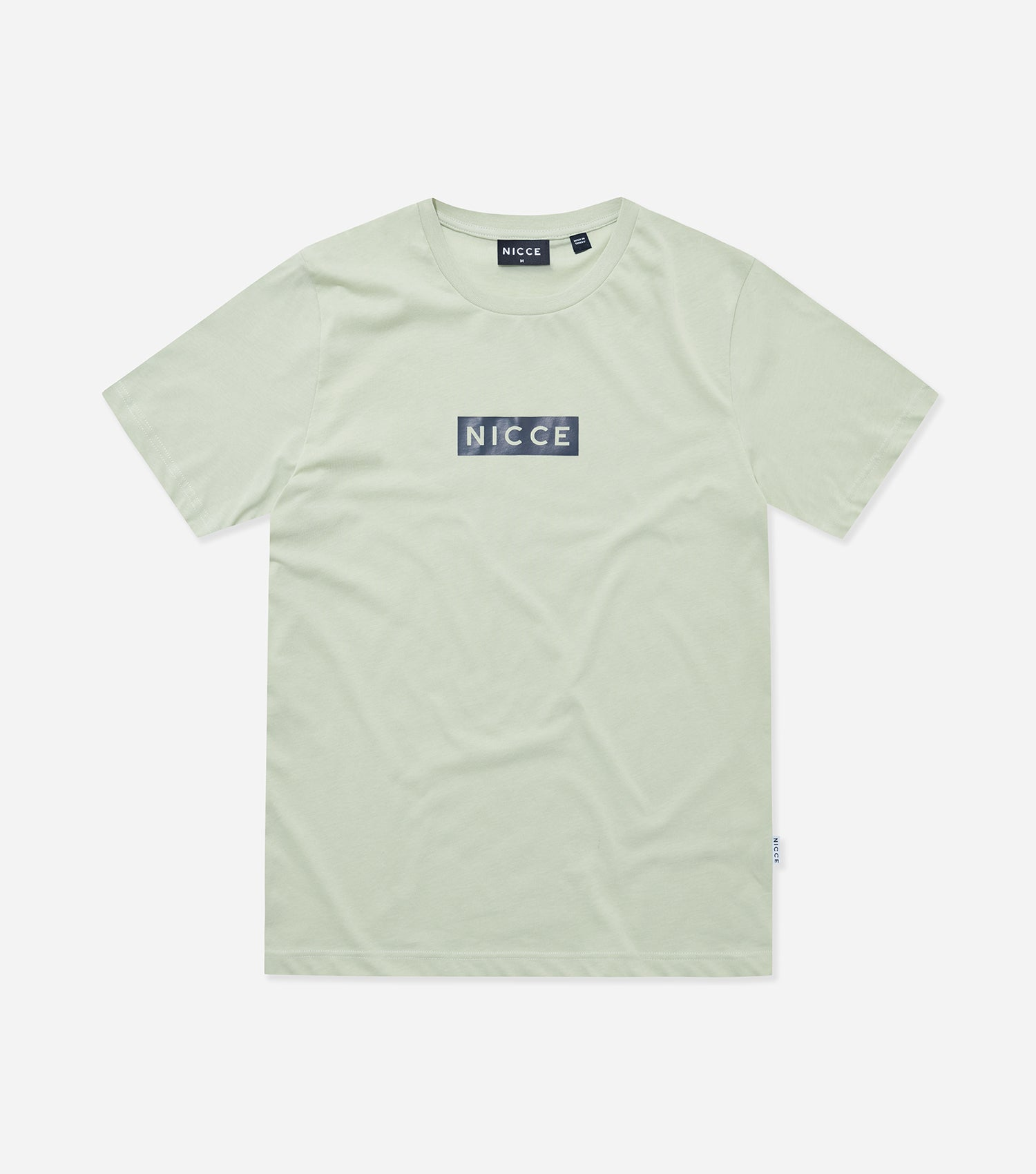 NICCE Mens Base T-Shirt | Mint/ Deep Navy, T-Shirts