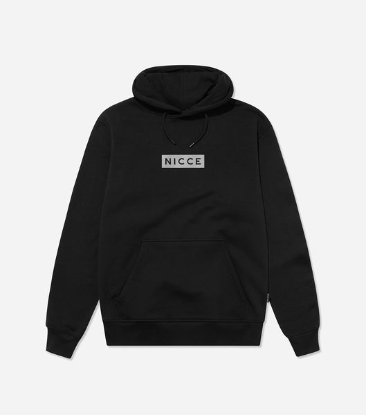 NICCE Mens Reflective Base Hood | Black, Hoodies