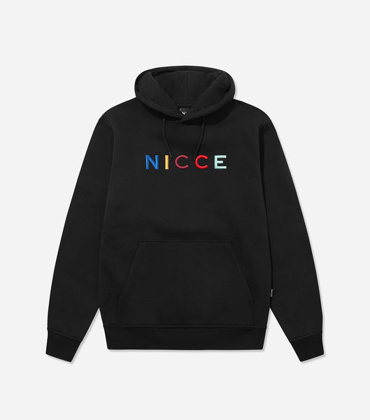 NICCE Mens Dallas Hood | Black, Hoodies