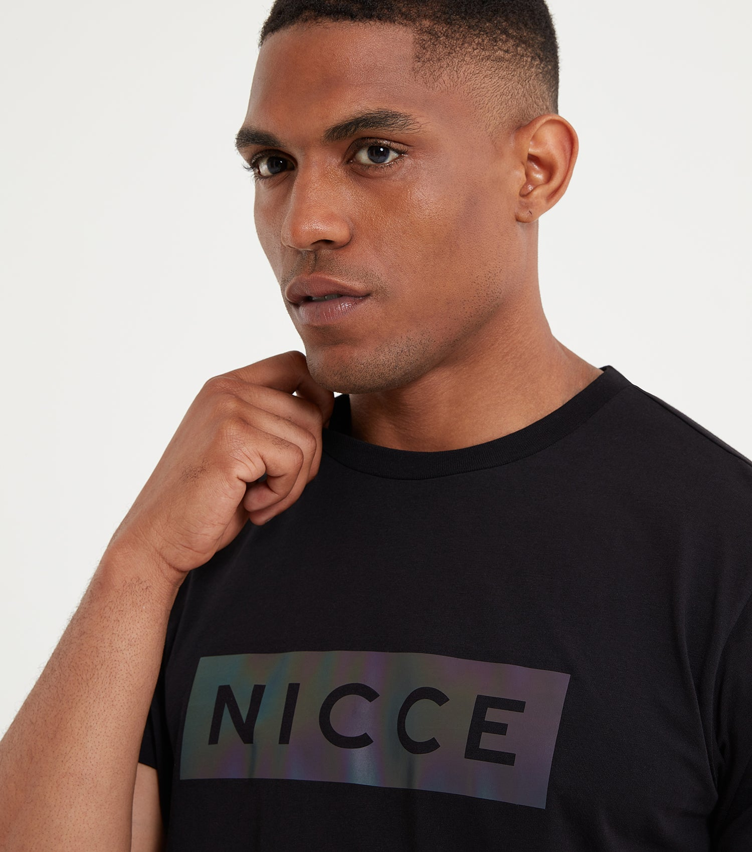 NICCE Mens Dock T-Shirt | Black, T-Shirts