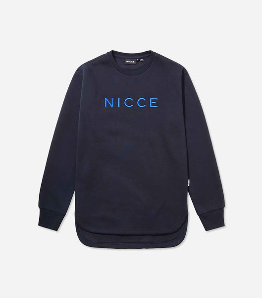 NICCE Womens Rhodium Sweat Dress | Deep Navy, Dresses