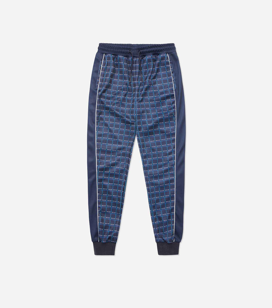 NICCE Womens NICCE Check Track Pants | Navy