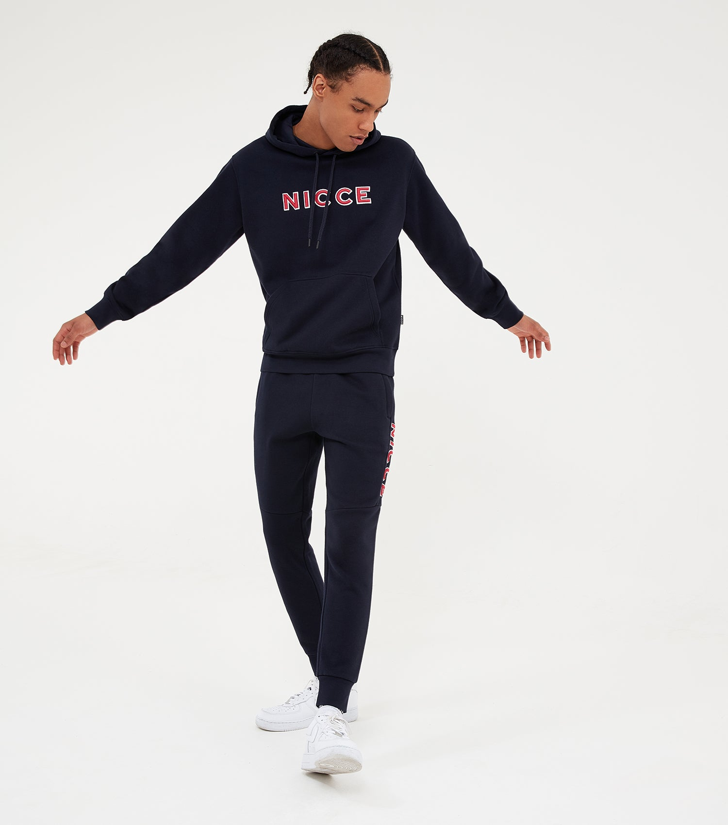 Nicce Mens Truman Hood | Deep Navy, Hoodies