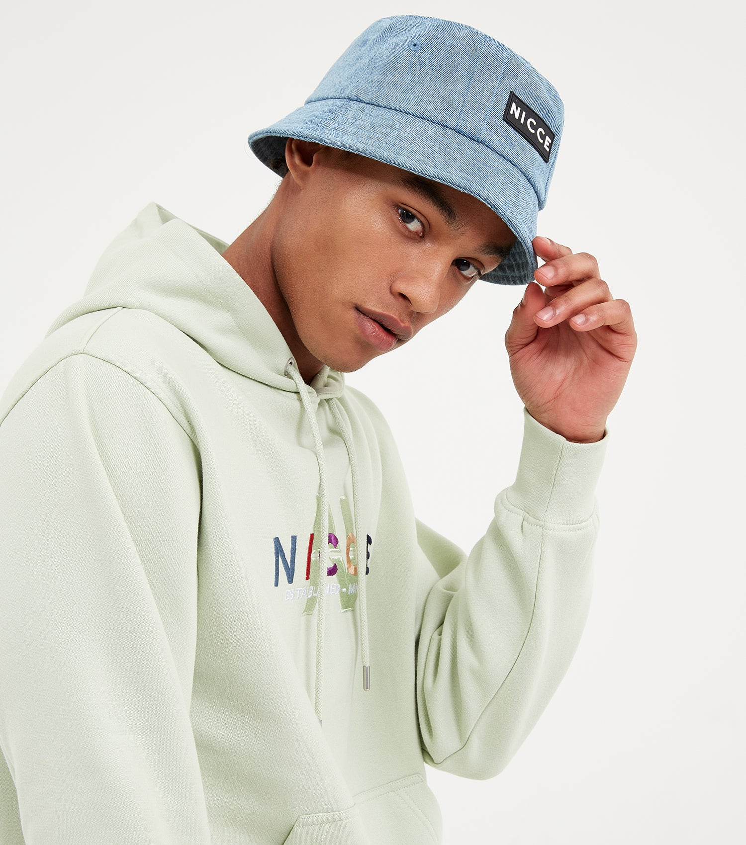 NICCE Mens Monta Hood | Mint, Hoodies