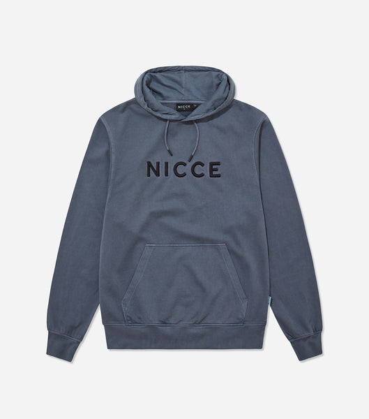 Nicce Mens Drift Os Hood | Blue Steel, Hoodies