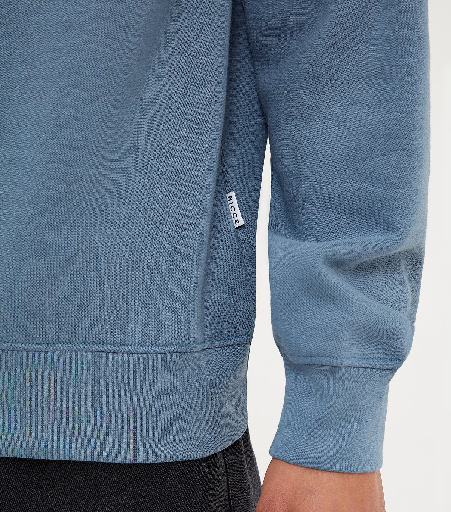 NICCE Mens Truman Sweat | Blue Mirage, Sweatshirts