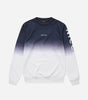 Nicce Mens Fade Sweat | Deep Navy Ombre, Sweatshirts
