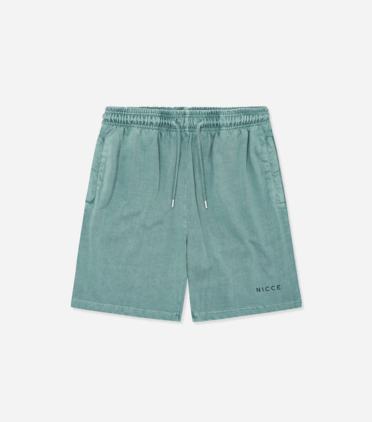 Nicce Mens Cline Jog Shorts | Trellis Blue, Shorts