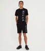Nicce Mens Reflective Race Shorts | Black, Shorts