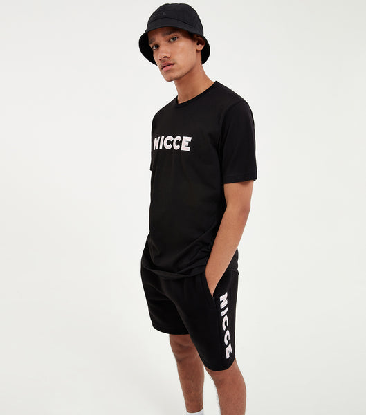 Nicce Mens Truman T-Shirt | Black