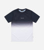 Nicce Mens Fade T-Shirt | Deep Navy Ombre, T-Shirts
