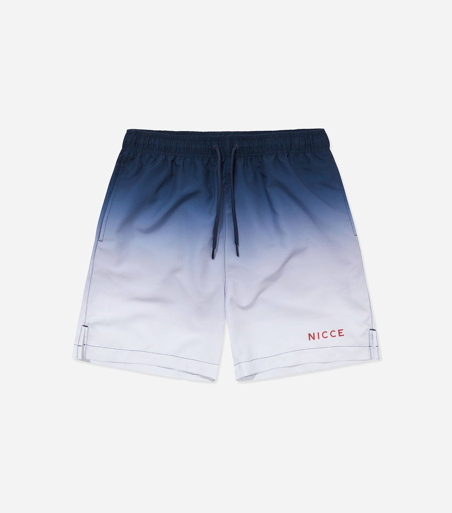 Nicce Mens Ombre Swim Shorts | Deep Navy Ombre, Swimwear