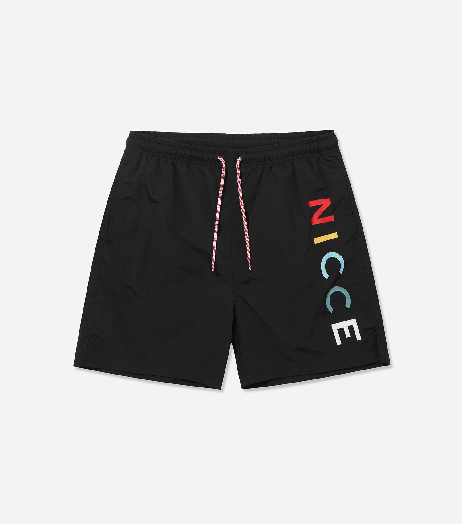 Nicce Mens Denver Swim Shorts | Black, Swimwear
