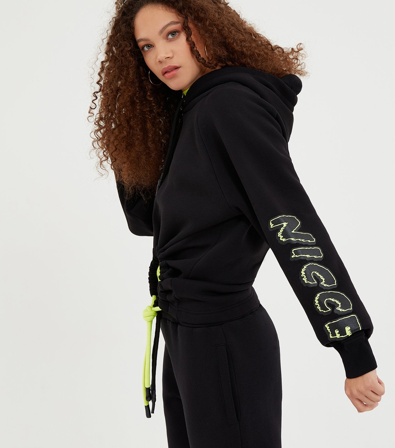 NICCE Womens Genesis Hood | Black, Hoodies