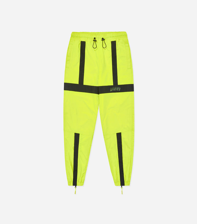 NICCE Womens Fusion Track Pants | Neon Yellow/Black, Pants