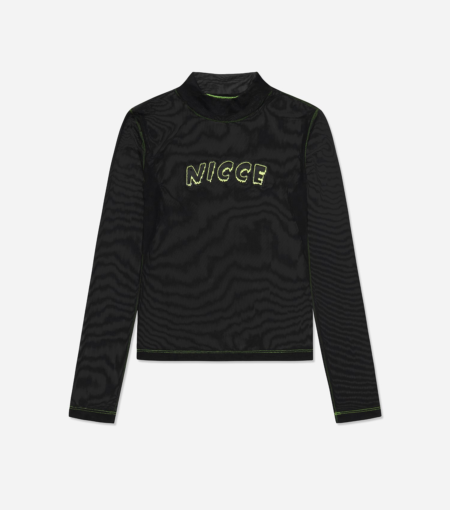 NICCE Womens Orion LS Tee | Black, Tops