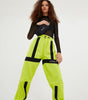 NICCE Womens Orion LS Tee | Neon Yellow, Tops