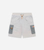 Nicce Mens Gemini Shorts | Glacier Grey, Shorts