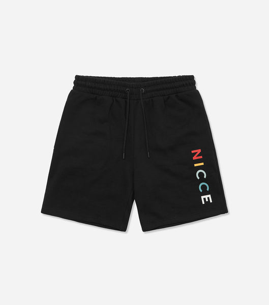 Nicce Mens Denver Jog Shorts | Black, Shorts