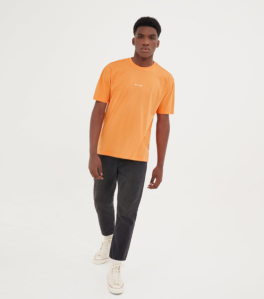NICCE Mens Chroma OS T-Shirt | Mock Orange, T-Shirts