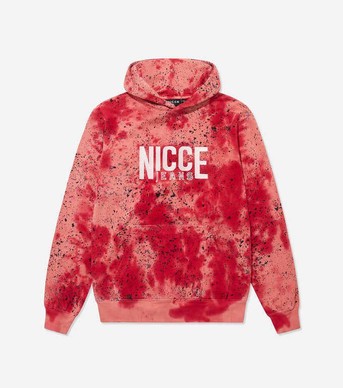 NICCE Mens Tie Dye OS Hood | Holly Berry, Hoodies