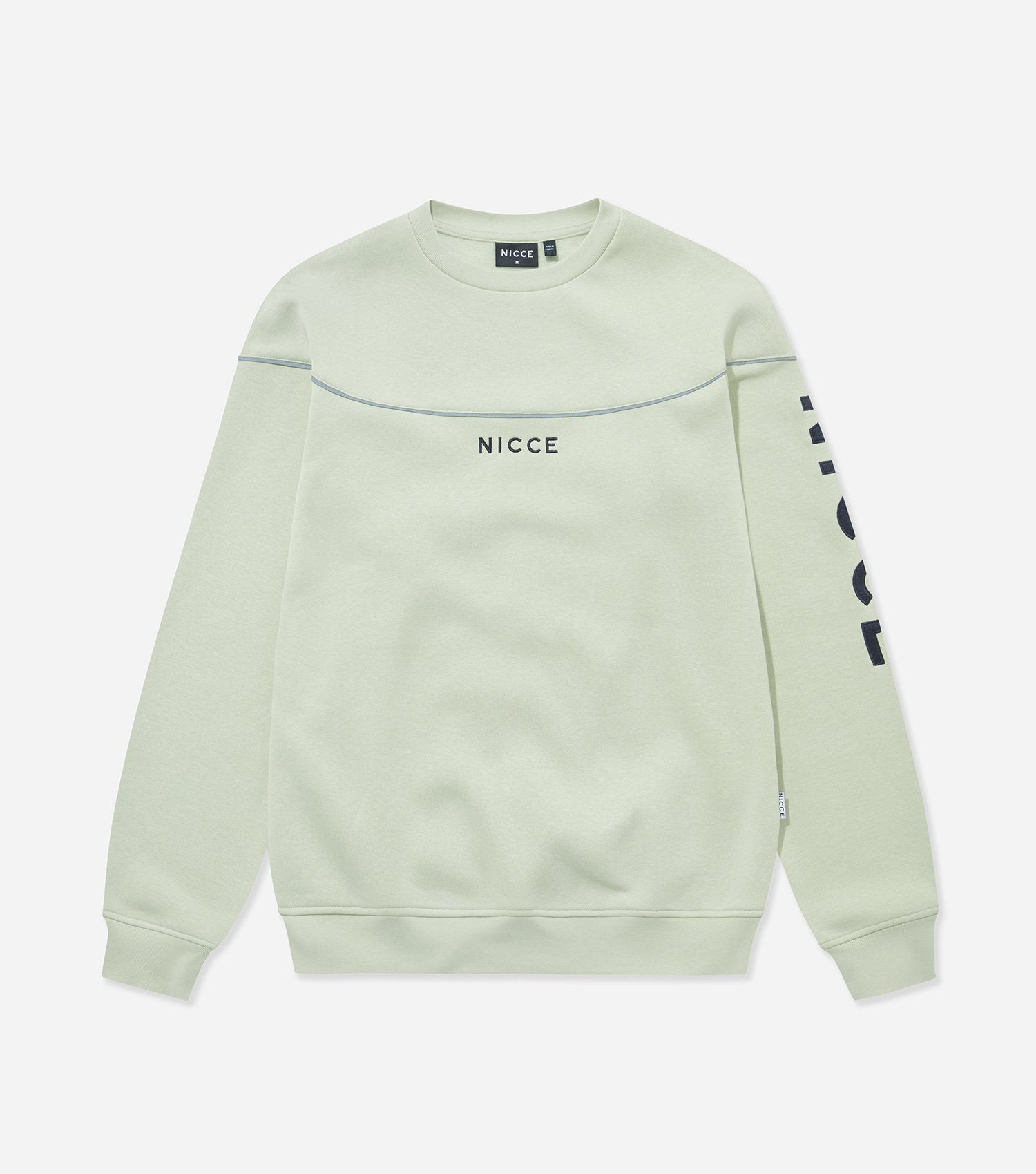 NICCE Mens Alpha Sweat | Mint, Sweatshirts