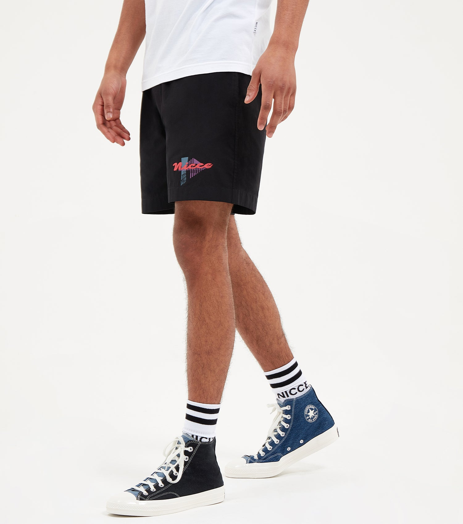 NICCE Mens Miami Shorts | Black, Shorts