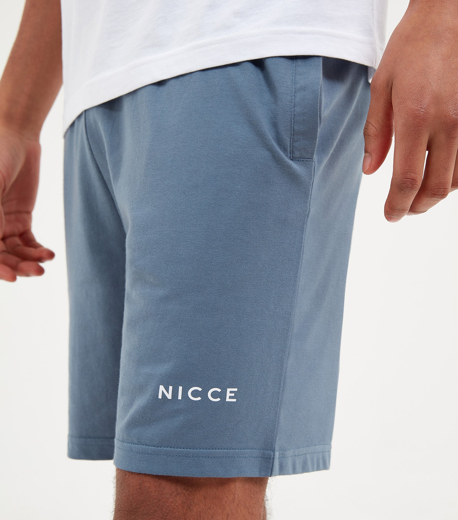NICCE Mens Taro Shorts | Blue Mirage, Bottoms