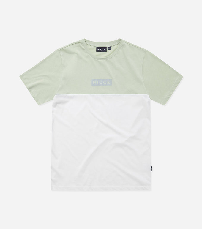 NICCE Mens Creel T-Shirt | Mint/White, T-Shirts