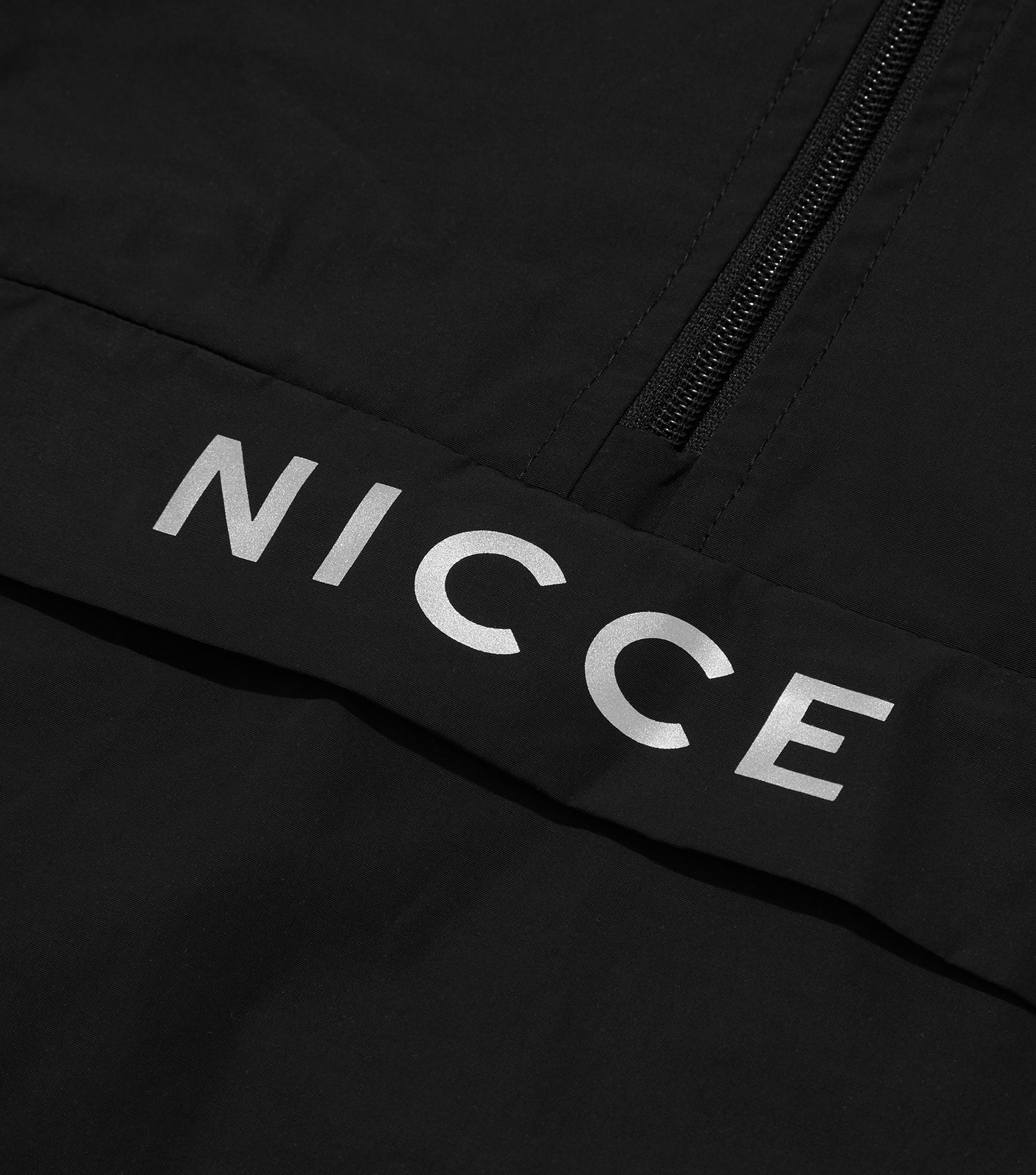 NICCE Mens Trail Star Cagoule | Black, Outerwear
