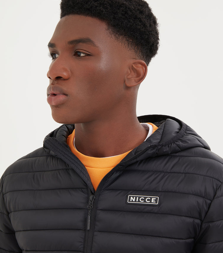 NICCE Mens Maidan Jacket | Black, Outerwear