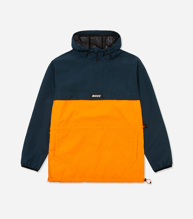 NICCE Mens Truss Kagoule | Airforce Blue/ Flame Orange, Outerwear