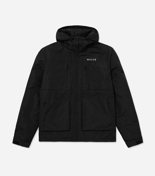 NICCE Mens Meson Jacket | Black, Outerwear