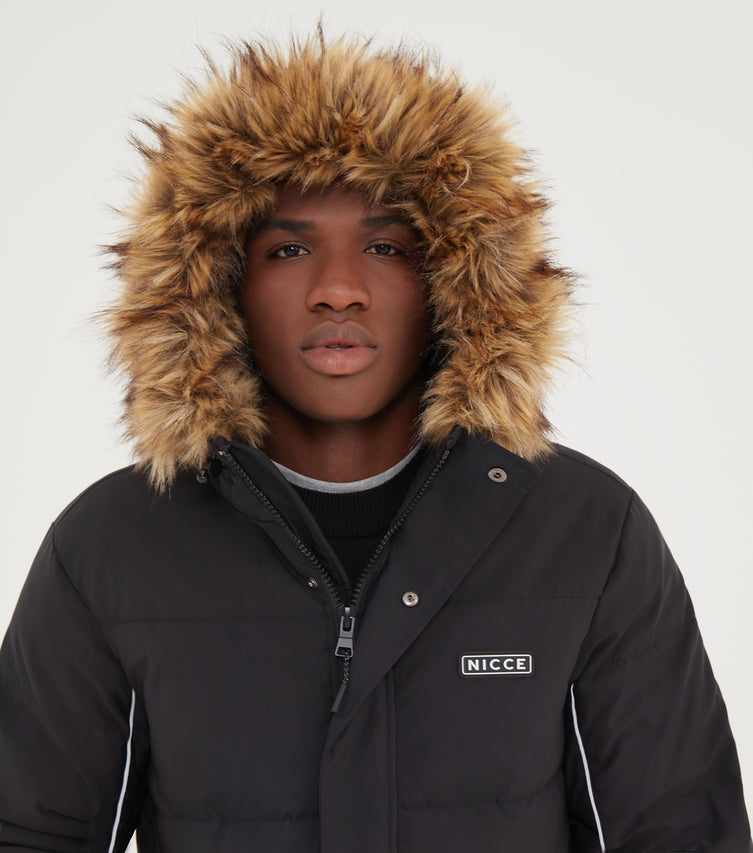 NICCE Mens Radian Jacket | Black, Outerwear