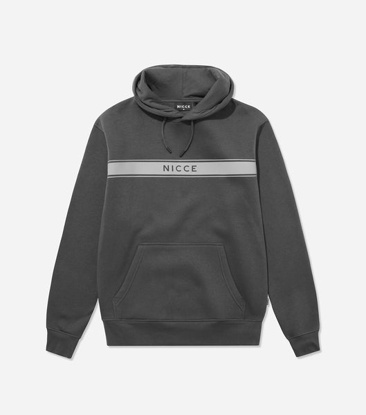 Nicce Mens Axiom Hood | Coal
