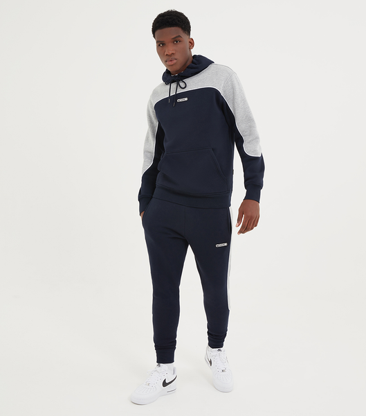 NICCE Mens Ark Jogger | Deep Navy/ Grey Marl
