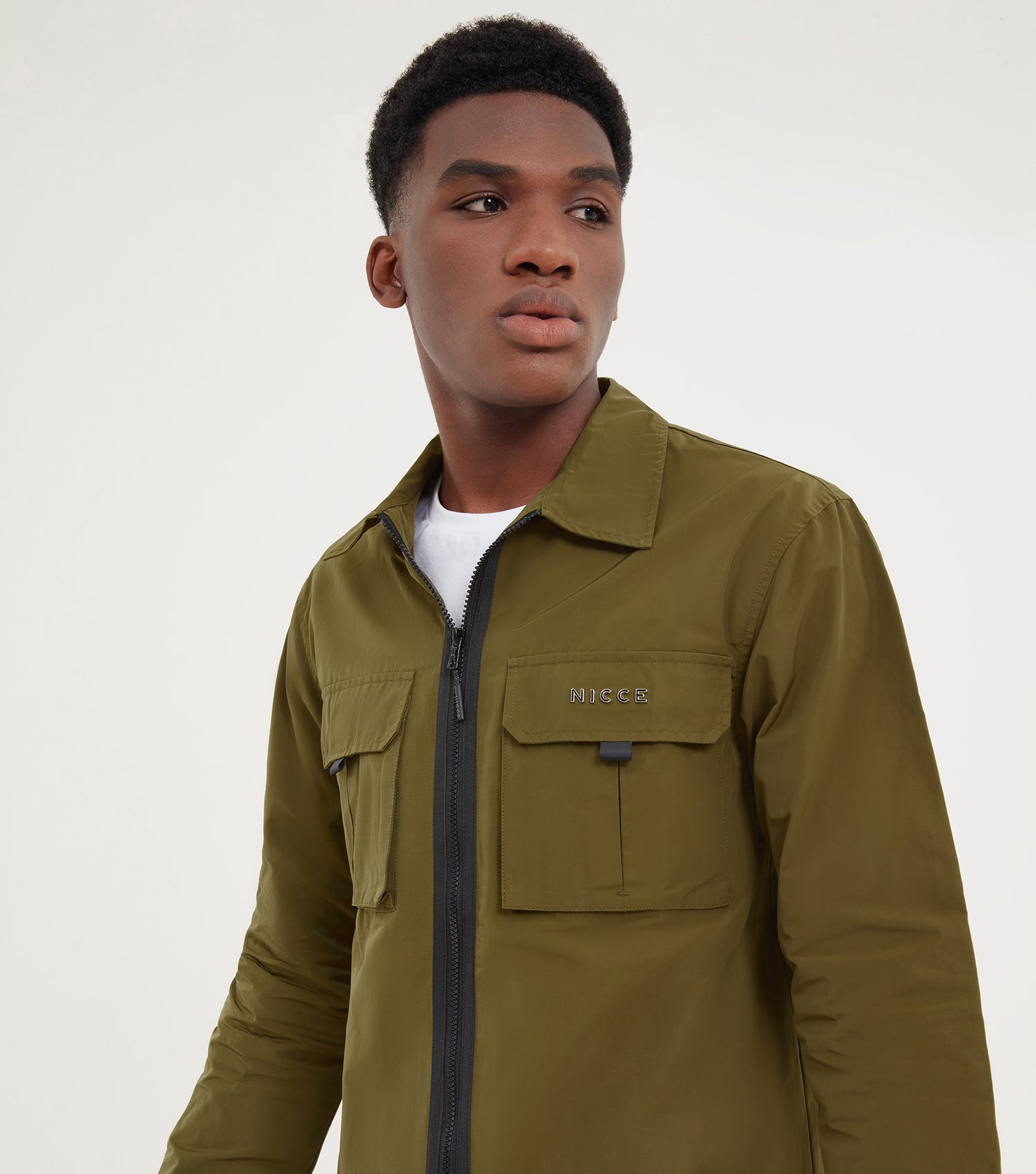 NICCE Mens Ouatro Shirt | Olive, Shirts