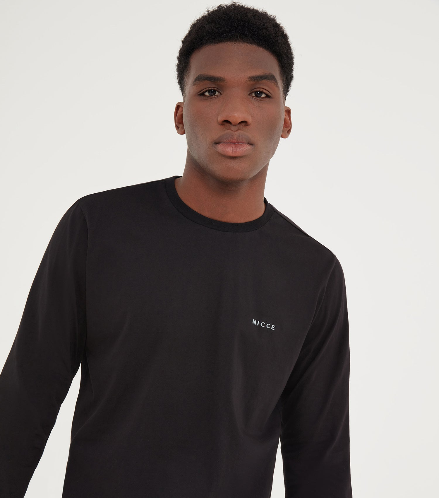NICCE Mens Brink LS T-Shirt | Black