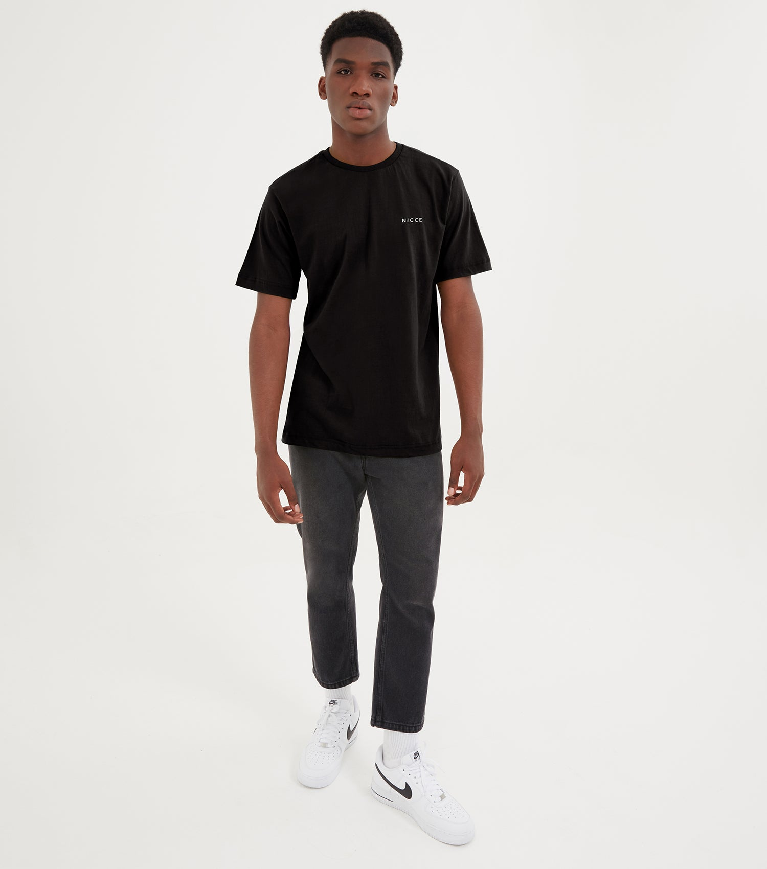 NICCE Mens Brink T-Shirt | Black