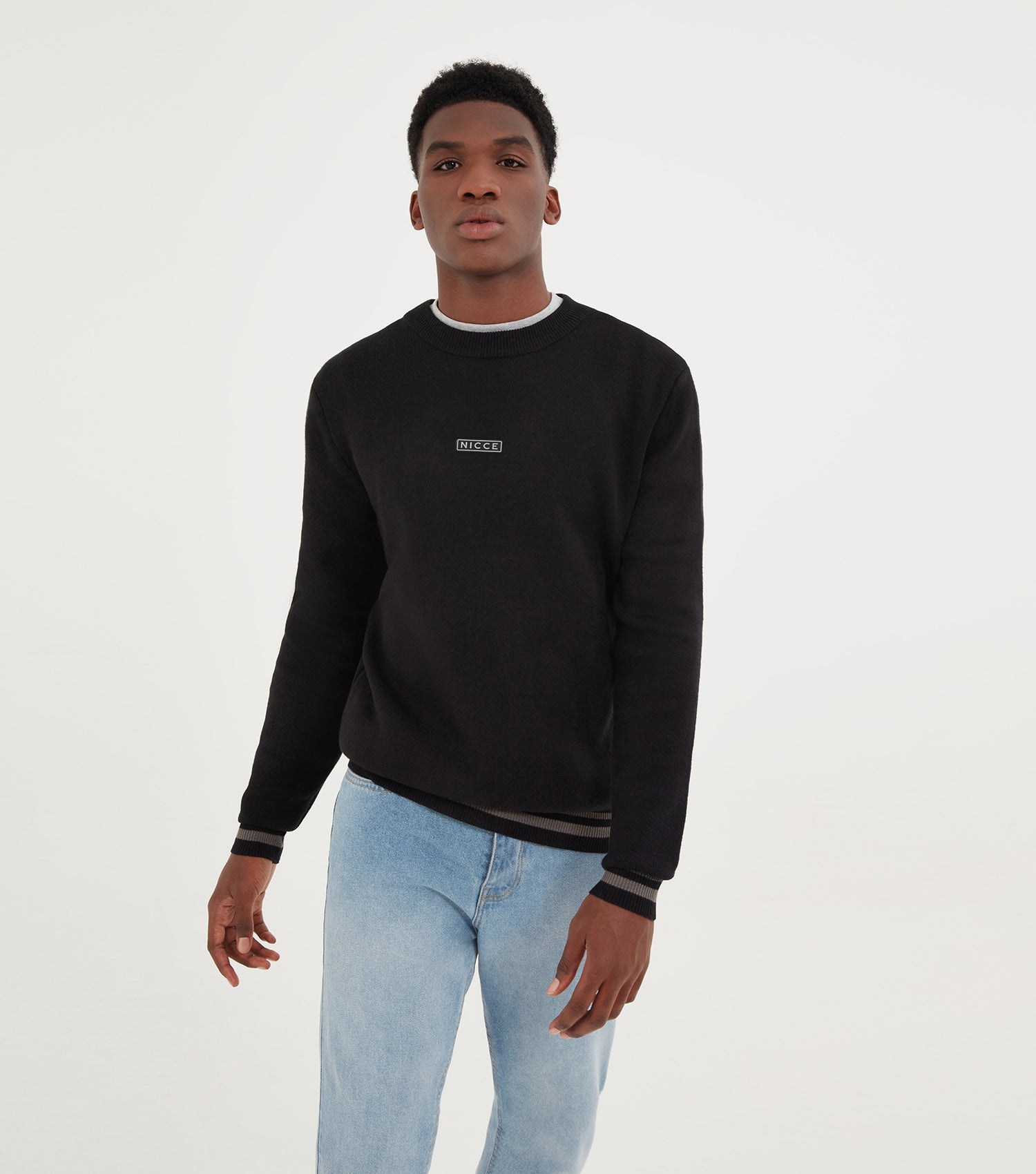 NICCE Mens Rimm Knit | Black