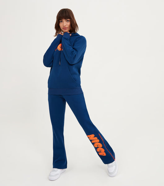 NICCE Womens Genisis Jogger | Blue Depths/ Fiery Coral, Joggers