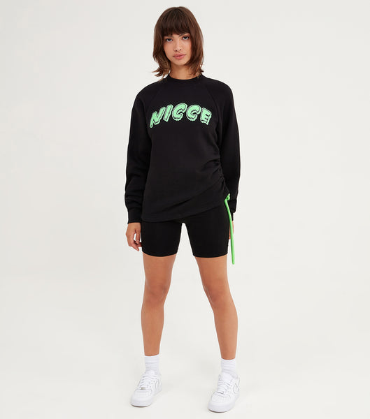 NICCE Womens Jest Sweat | Black