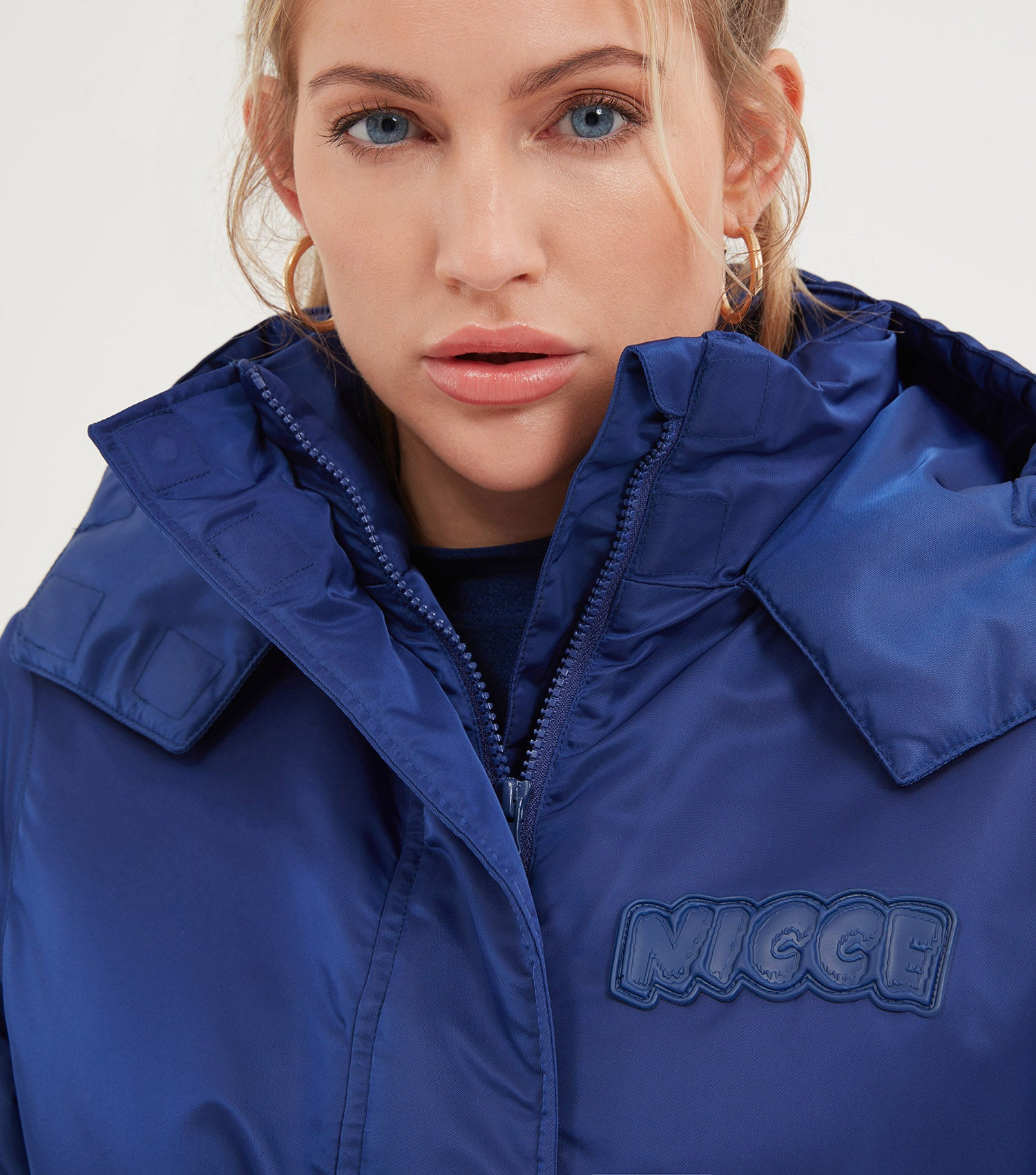 NICCE Womens Troupe Coat | Blue Depths, Outerwear