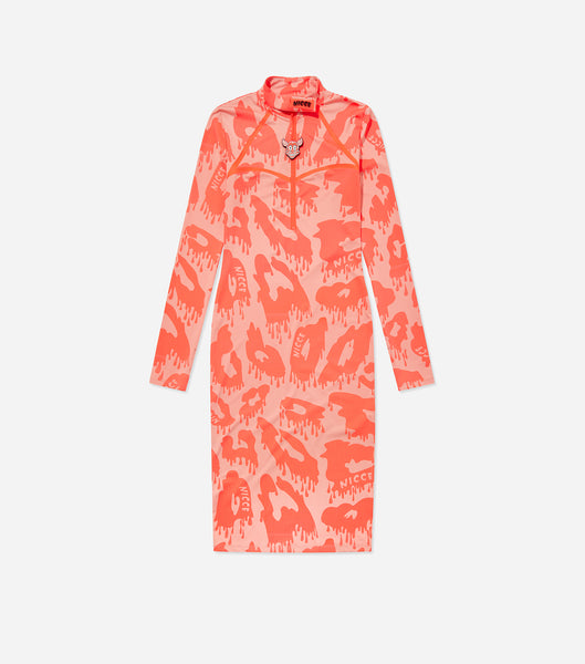 NICCE Womens Arena Dress | Peach/ Coral, Dresses