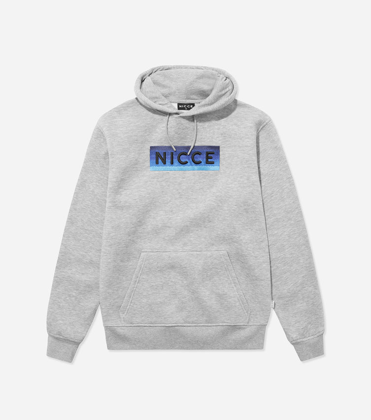 Nicce Mens Alto Hood I Light Grey Marl
