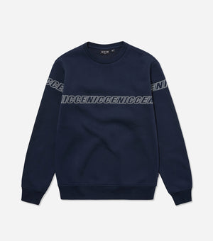 Nicce Mens Rioja Sweat I Deep Navy