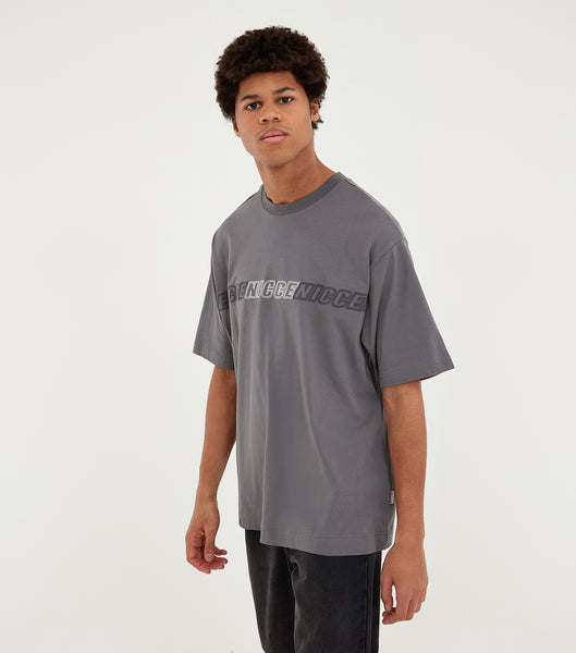 Nicce Mens Rioja OS T-Shirt | Steel Grey