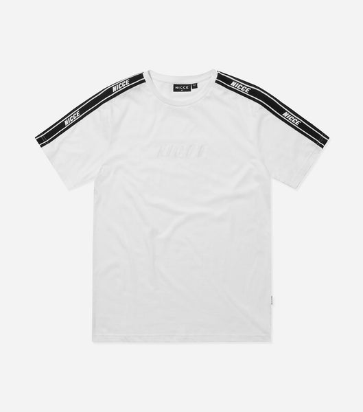 Nicce Mens Mendoza T-Shirt | White